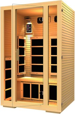 JNH Lifestyles 2 Person Far Infrared Sauna _
