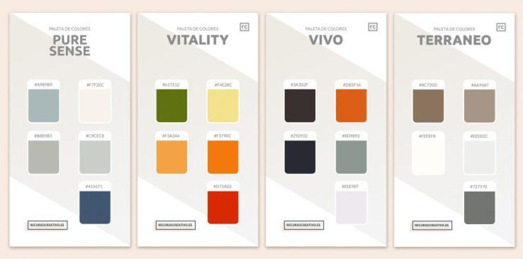 los mejores colores para diseñar