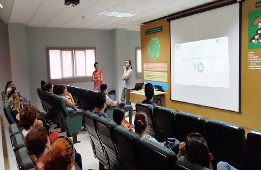 Promoción del reciclaje en Ecoparque Sur