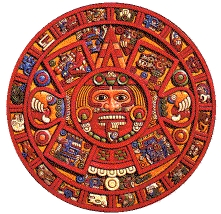 Calendario maya. Tomada de www.criad.unibo.it
