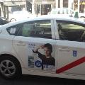 ZTE estrena la publicidad en los taxis de Madrid