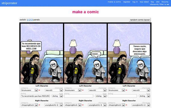 StriptCreator tiras comicas