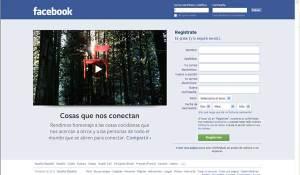 Primera pagina de facebook en castellano