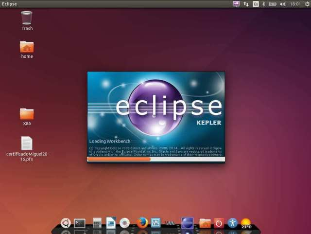 Eclipse en ubuntu