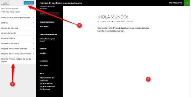 WordPress-Instalacion propia. Personalizacion