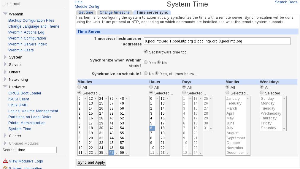 webmin_sync_time