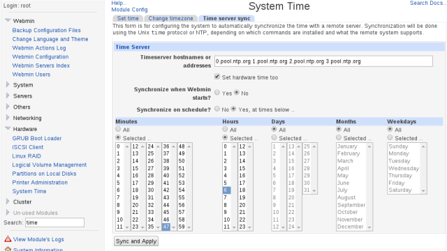 webmin_sync_time