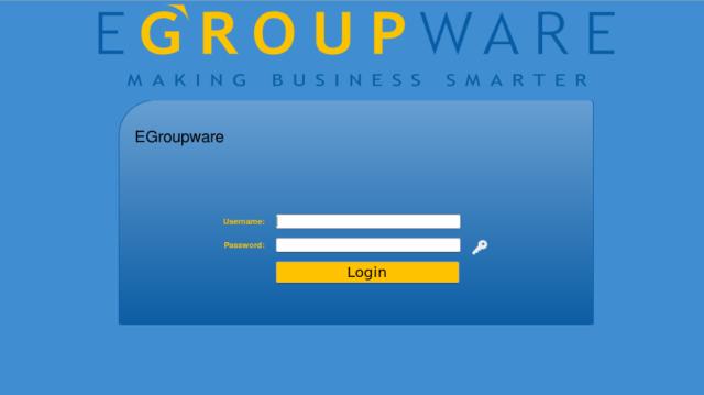egroupware-pantalla de login