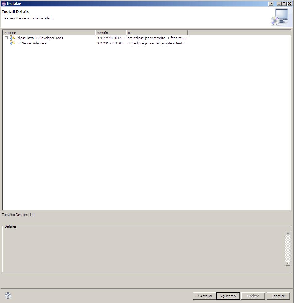 Eclipse-Instalando nuevo software
