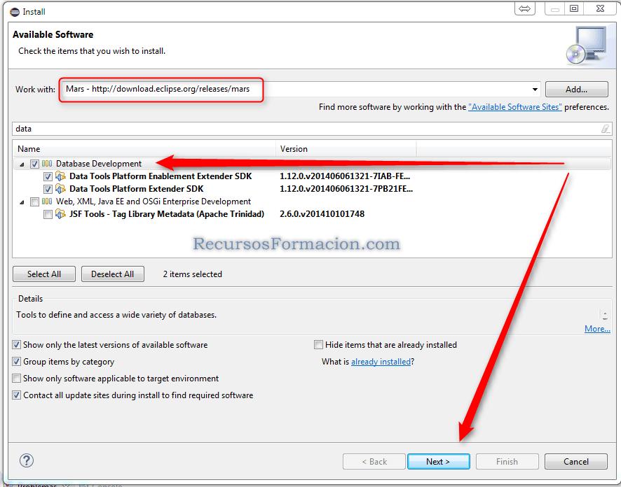 Añadir a Eclipse el Pluging DTD