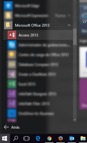 Iniciando Microsoft Access