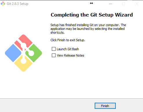 final instalacion git for windows