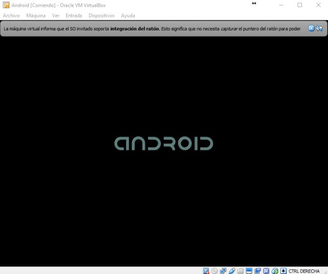 Arrancando Android