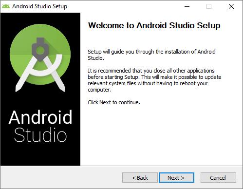 Instalacion de Android Studio