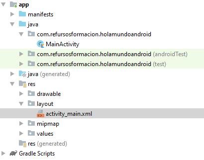 Emparejamiento de modulos de programacion con actividades