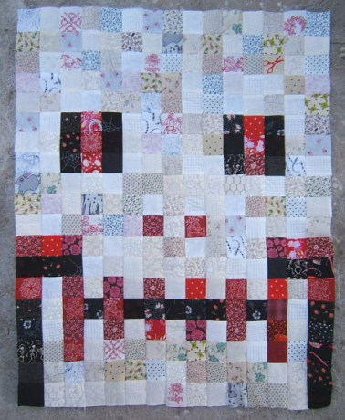skull quilt 2 inch squares