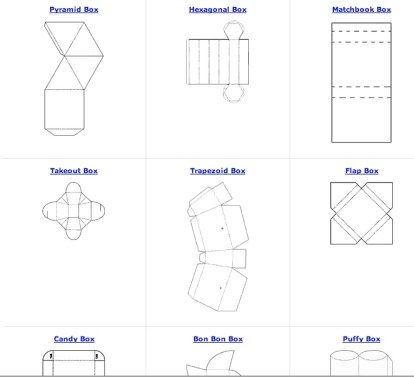 free box patterns