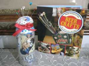 how to make a beer can pin cushion