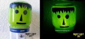 Frankenstein Night Light OffOn