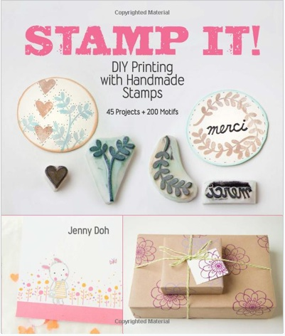 Book Review: Stamp It! DIY Printing with Handmade Stamps