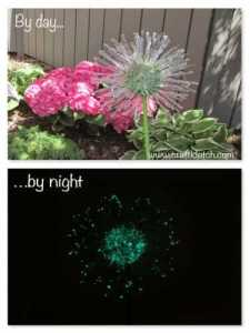 Recycled Dandelion Day Night