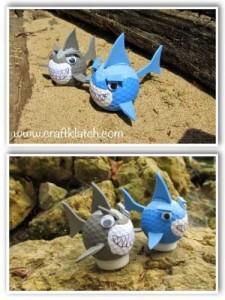 Shark Golf Balls