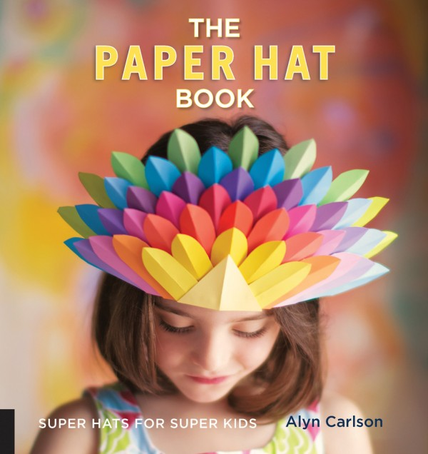 giveaway the paper hat book by alyn carlson and how to make a bunny cone hat