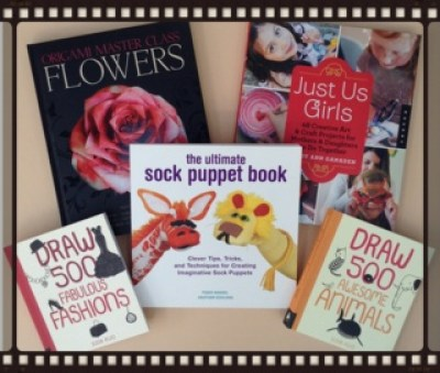 sock puppet book giveaway