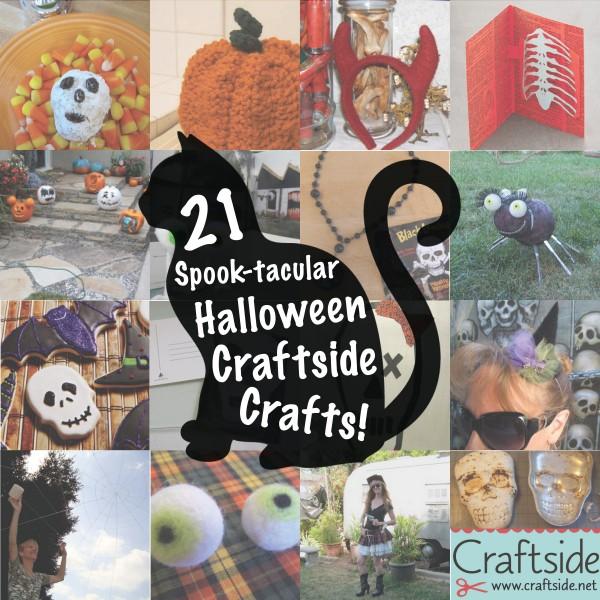 Craftside halloween crafts