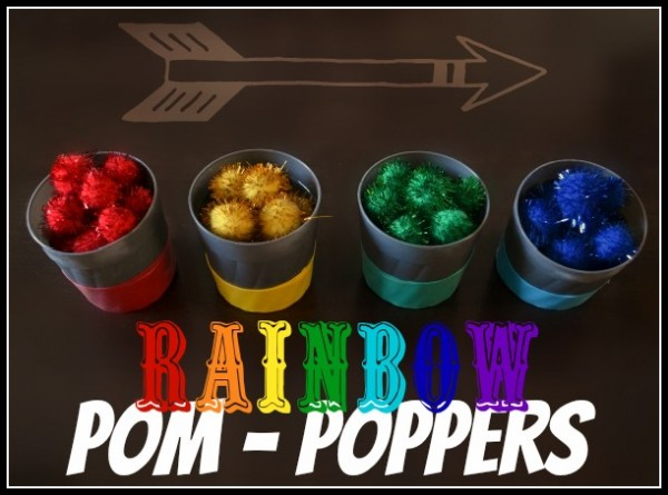 rainbow poppers