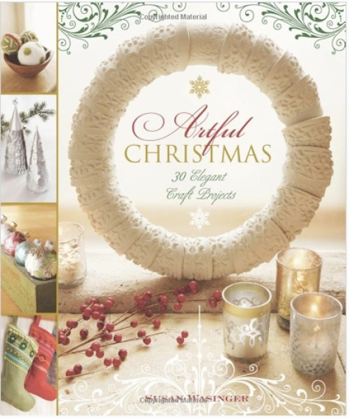 artful Christmas book craft projects