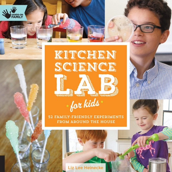 Giveaway: Kitchen Science Lab for Kids: 52 Family Friendly Experiments from around the House
