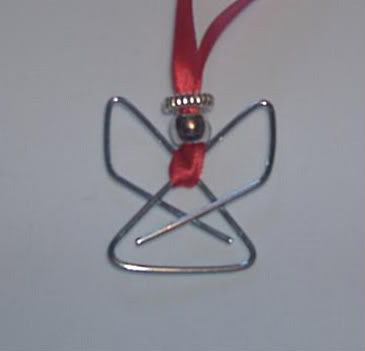 How to make a paperclip angel
