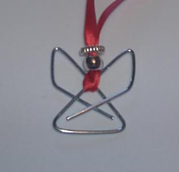 paper clip angel