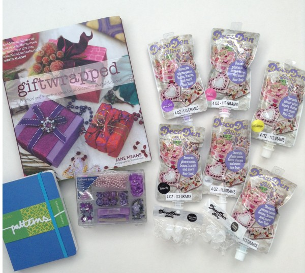 Decoden giftwrapped patterns giveaway