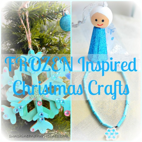Elsa and Frozen Christmas craft  Recycled Crafts