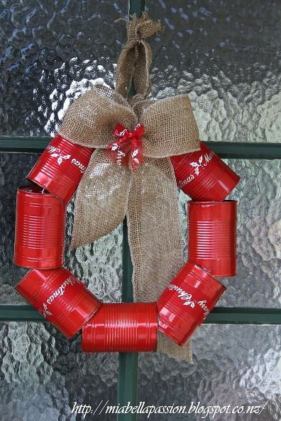 8 Crafts To Use Recycled Tin Cans