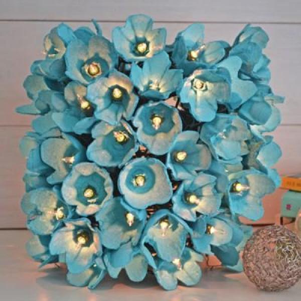 6 Crafts To Make From Egg Cartons Recycled Crafts: egg carton flowers ideas