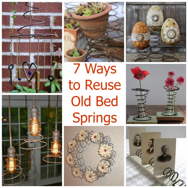 Do You Have A Collection Of Old Bed Springs And You Just Canu0027t Seem To Find  The Perfect Project To Use Them In? Maybe These 7 Ideas Will Give You Some  ...