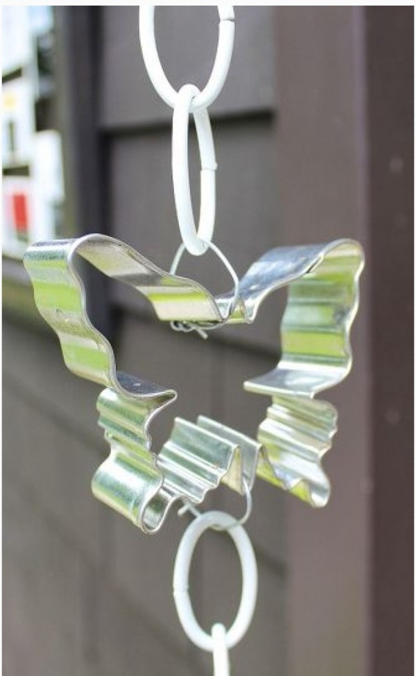 cookie cutter rain chain