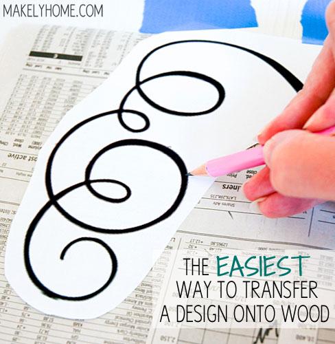 Transfer-Design-Onto-Wood