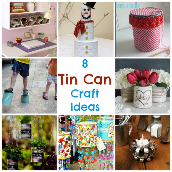 tin can craft ideas 8 tin can craft ideas recycled crafts 5585