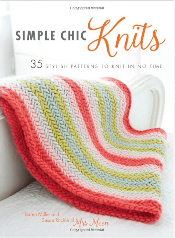 Giveaway: Simple Chic Knits: 35 Stylish Patterns to Knit in No Time   Recycle...
