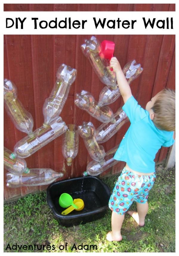 DIY-Toddler-Water-Wall