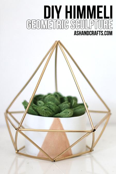 DIYHimmeliGeometricSculpture