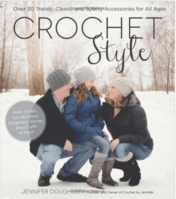 Giveaway- Crochet Style Over 30 Trendy Classic and Sporty Accessories for All Ages