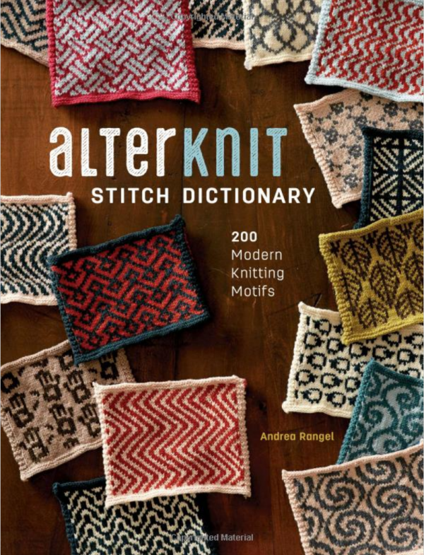 Giveaway- AlterKnit Stitch Dictionary 200 Modern Knitting Motifs