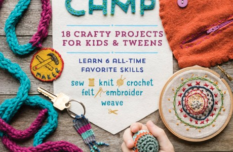 Giveaway- Stitch Camp: 18 Crafty Projects for Kids & Tweens