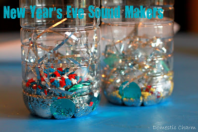 How to make New Year's Eve noise makers
