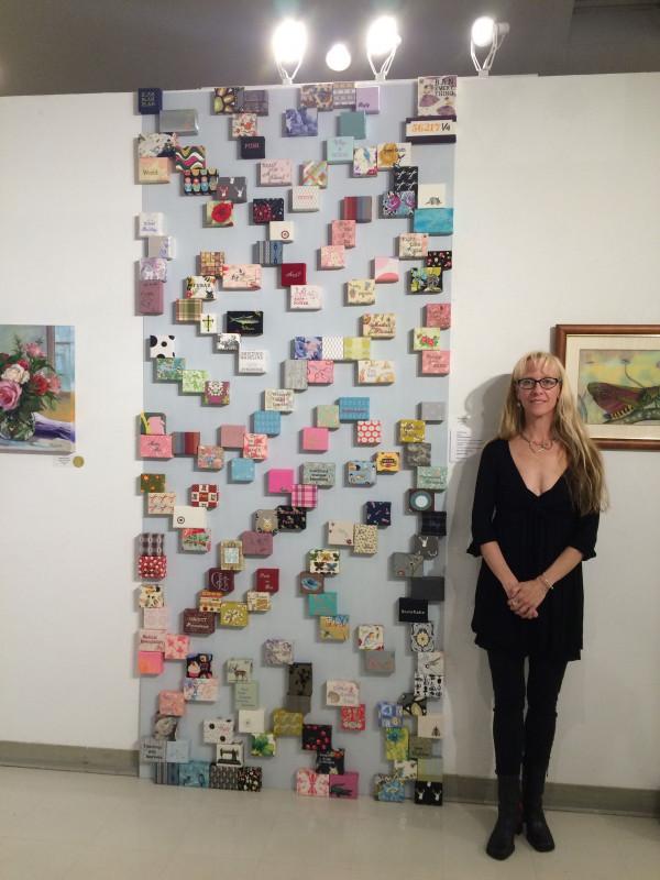 Stefanie Girard Moving Blocks Art Installation